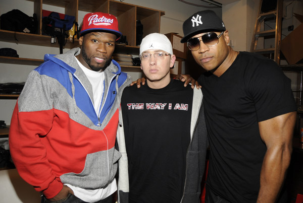 LL COOL J and 50 Cent. Its a Queen's Thing