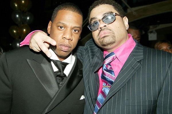 Heavy D with Jay-Z