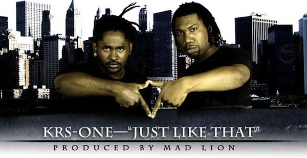 mad lion krs one